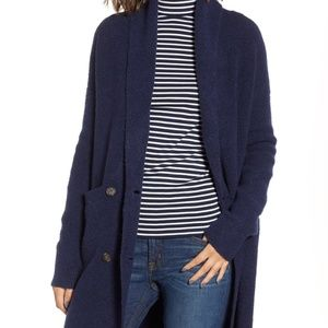 J. Crew Double Breasted Cardigan Jacket (M)